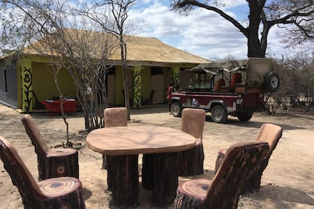 Camping at the Unique art & Scenic point  Ruaha NP