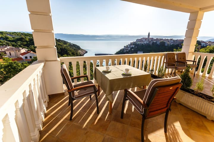 Villa Mirela - Room Mimoza - Vrbnik - Bed & Breakfast