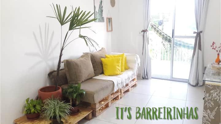 It's Barreirinhas: quarto com banheiro privativo