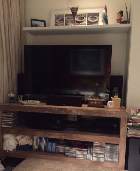 Sala de TV no 2o pavimento (Cobertura)