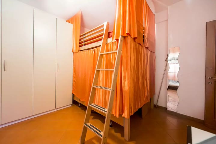 Bigbunk in sharedroom - Roma - Apartment