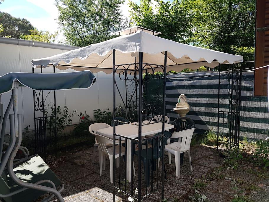 giardino privato riservato