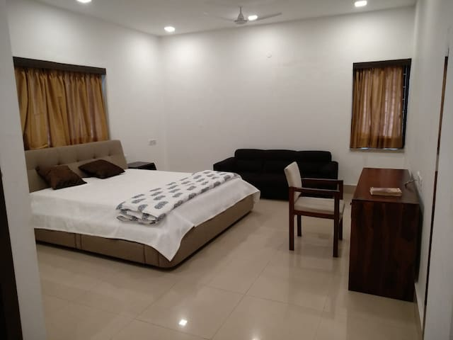 Room 1 of Bansari's luxury apartment