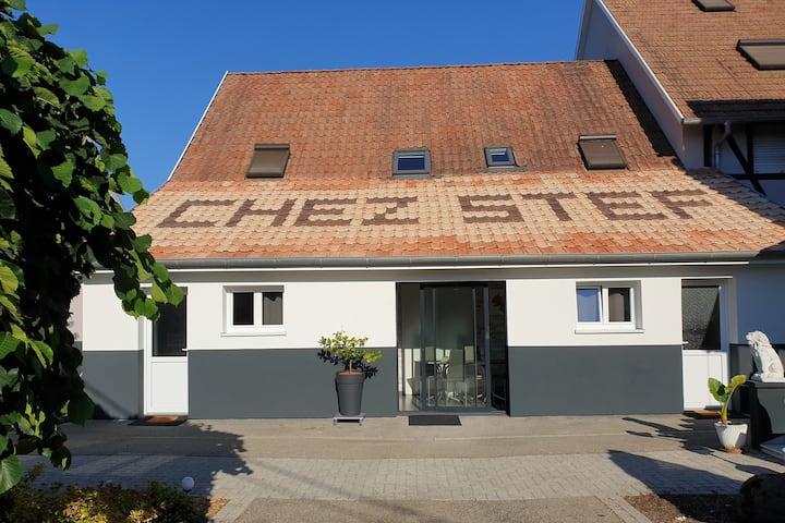 Chambre d'hôtes à Marckolsheim.