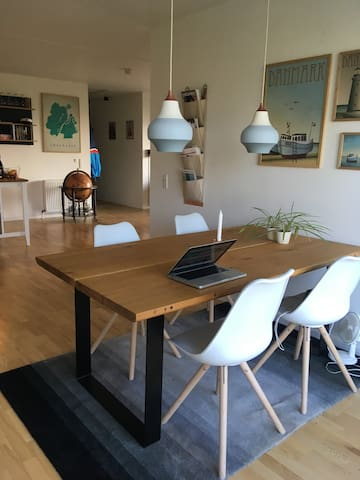105 sq.m. modern apartment in Copenhagen
