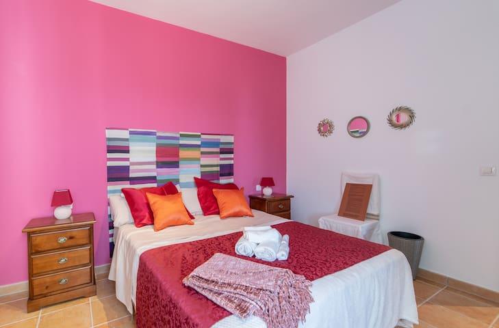 Villa b&b a Lanzarote, Stanza Root Chakra