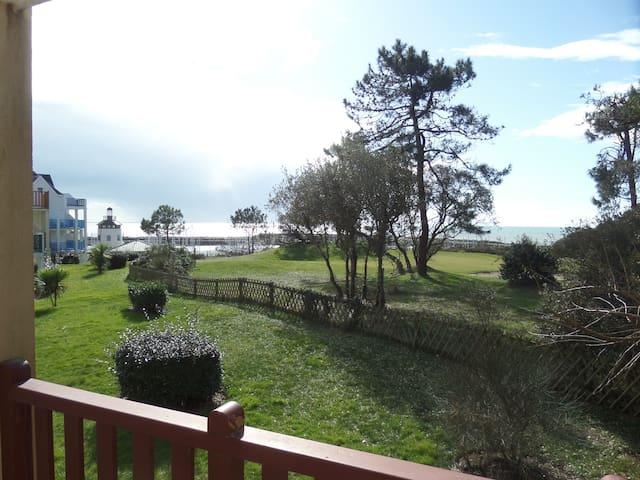 Vue mer ,vue golf Port Bourgenay Pierres vacances - Talmont-Saint-Hilaire - อพาร์ทเมนท์