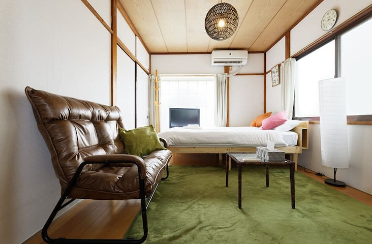 Cozy room 6min walk from Shimokitazawa station#201