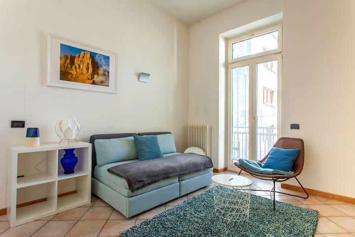 Charmante Wohnung im Liberty-Haus mitten in Meran