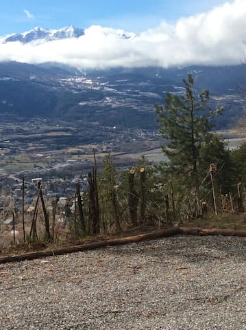 T2 Hauteur d'Embrun superbe vue panoramique - Embrun - Holiday home