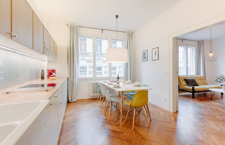 TAILOR MADE DESIGN APARTMENT near Old Town Sq