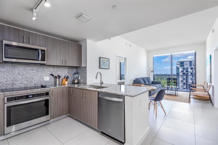 Brand new Downtown Doral one-bedroom condo