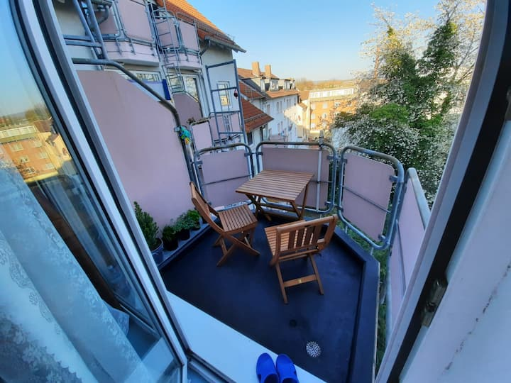 Lovely Studio with Balcony in Kassel Center