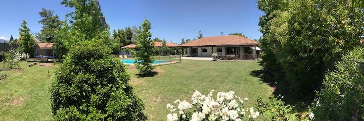 Casa gran piscina y quincho San Fernando Colchagua