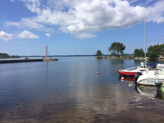 Maison 1ère ligne Lac de Lacanau