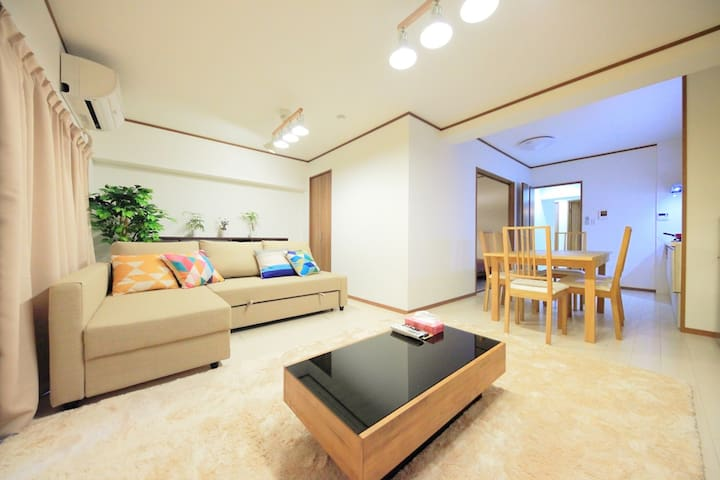 NEW!Luxury Condo in Downtown Osaka!Free wifi! - Chūō-ku, Ōsaka-shi - Condominium