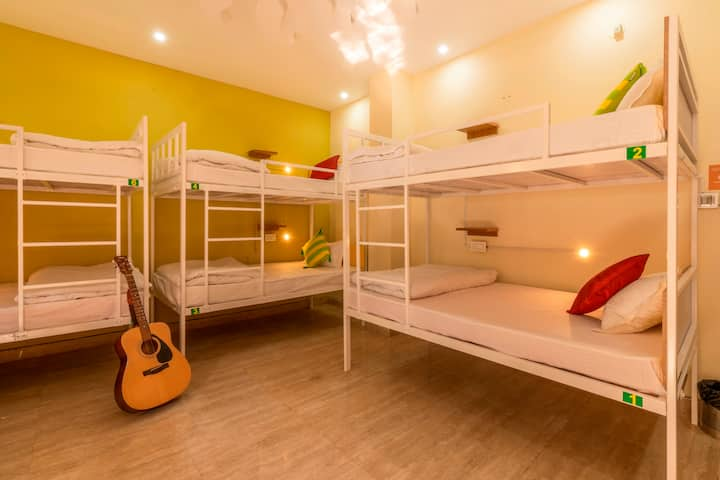 A Bed in 8 Bed Mixed Dorm - Rishikesh 2.0