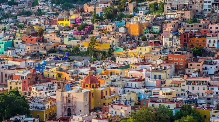 Loft para 5 personas Centro de Guanajuato / 1-103