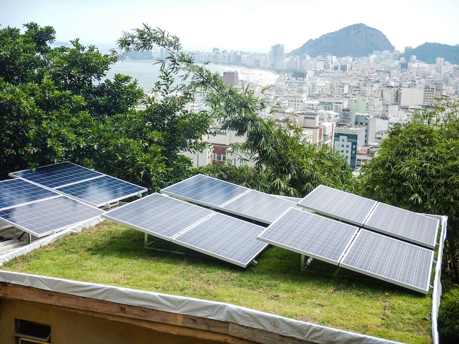Our solar installation is the pilot-project towards sustainable development in favelas through a solar energy cooperative