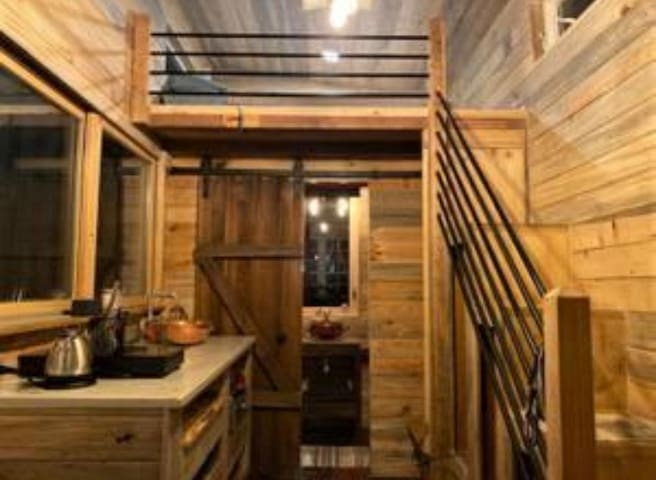"""Rusty"" The Rustic Tiny Home:-)"