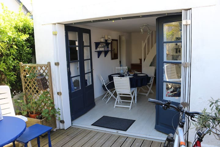 Maison bleue - Le Pouliguen - Villa