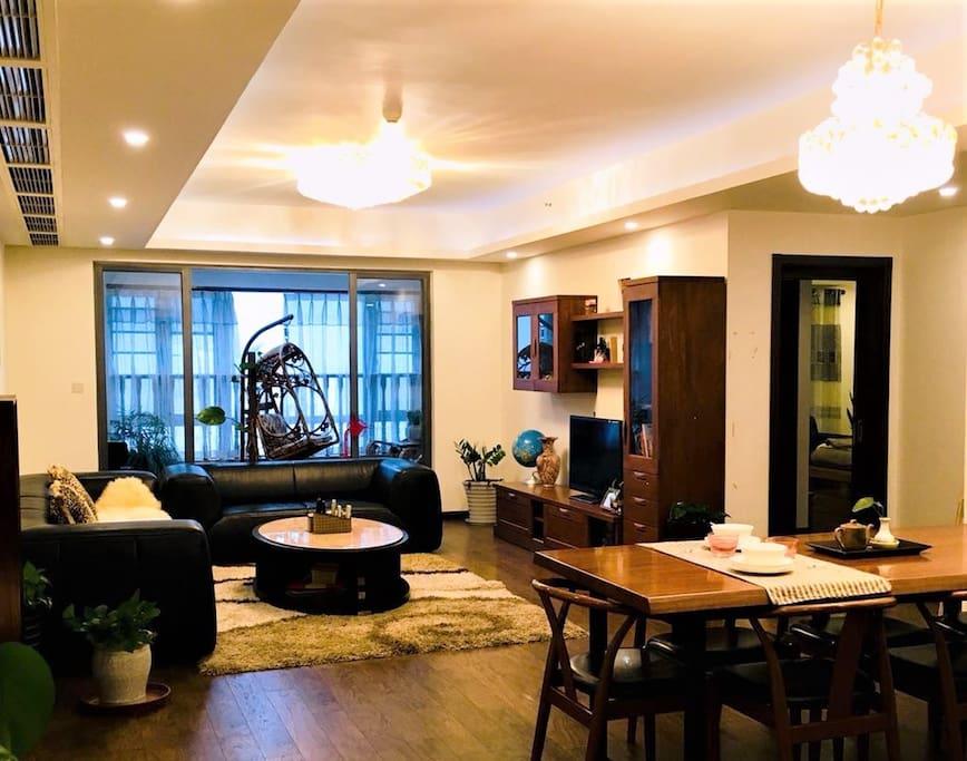 90平客厅