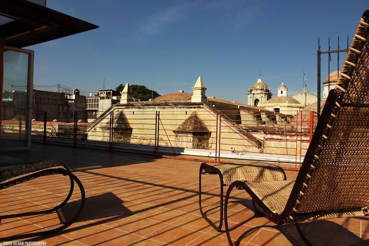 Loft with best view of oaxaca city