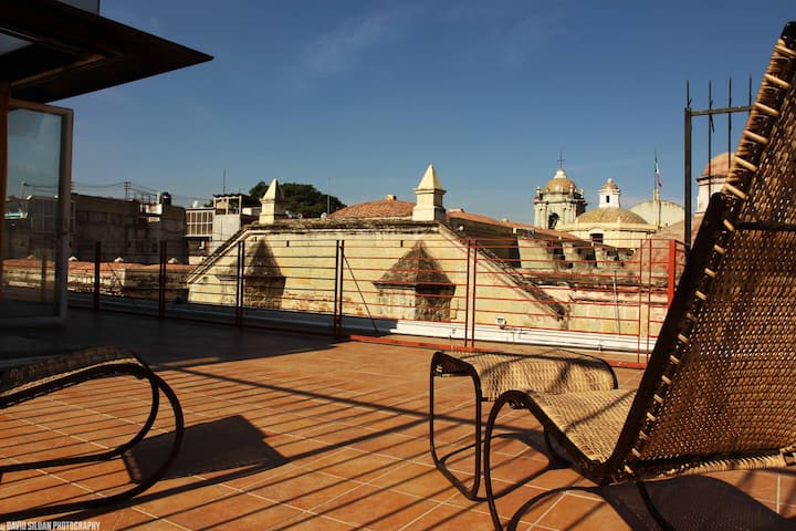 Loft with best view of oaxaca city