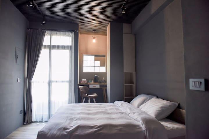 鹿港鉑鈳民宿-2號雙人陽光燦爛房