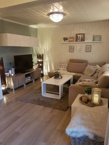 Modern house in Skien, with private bathroom
