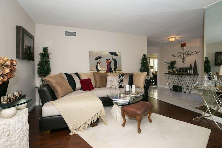A peaceful, pleasant private home