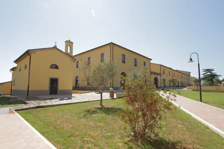 Stylish studio with air conditioning near the Tuscan coast