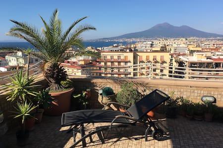 Attico Con Terrazza Vista Mozzafiato - Castellammare di Stabia - Apartment