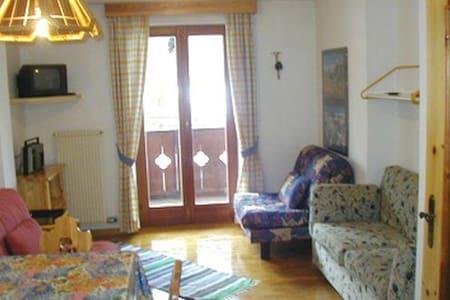 Bilocale Galleani - tipico appartamento - Canazei
