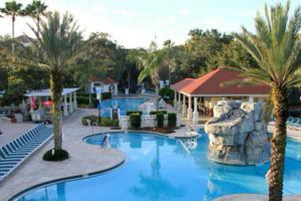 2 Bedroom Villa Star Island Resort Club Villas For Rent In Kissimmee Florida United States