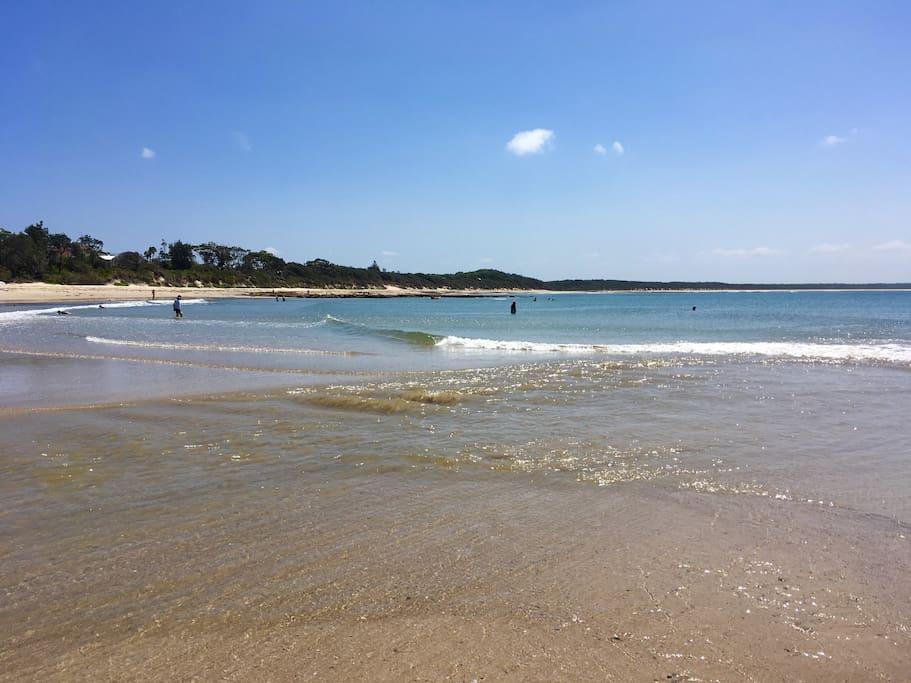 Currarong beach - 1 street away.