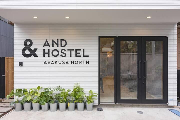 ★Asakusa area★Station 6 minute walk  Deluxe Twin