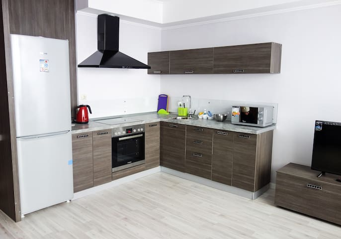 Дизайнерская квартира-студия на Г.Баруди - Kazan' - Apartment