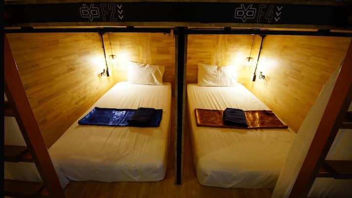 Sleep Owl Don Muang Capsule Female Only Dorm