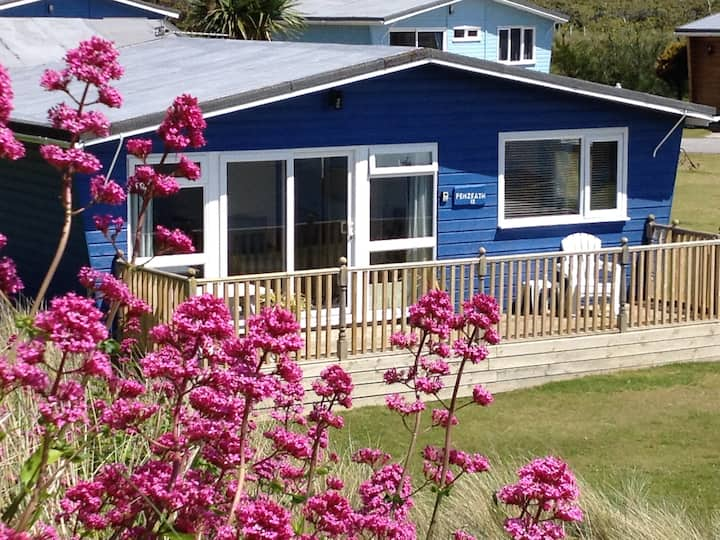 Penzeath chalet: A sunny chalet at Gwithian Sands
