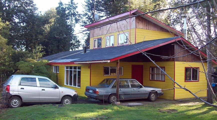 Hermosa Cabaña en Cascadas, Frente Lago Llanquihue - Puerto Octay