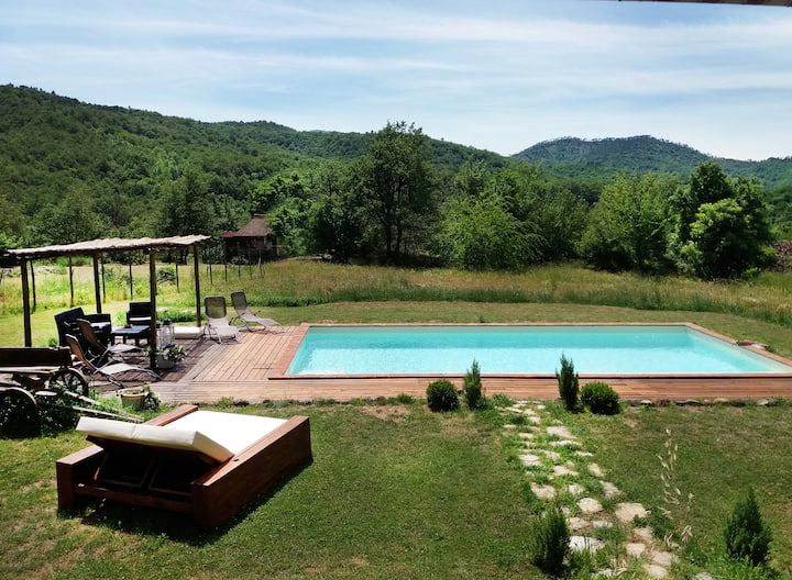 Fantastic Farmhouse,in Gavi area,Private Pool