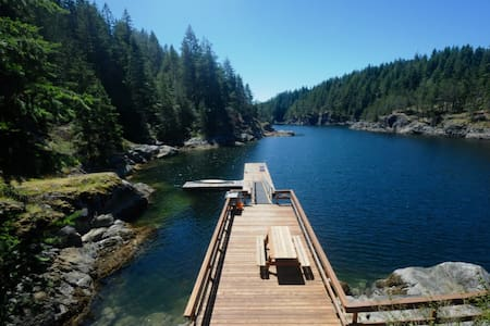 Bold Point Boathouse, Quadra Island, BC - Heriot Bay