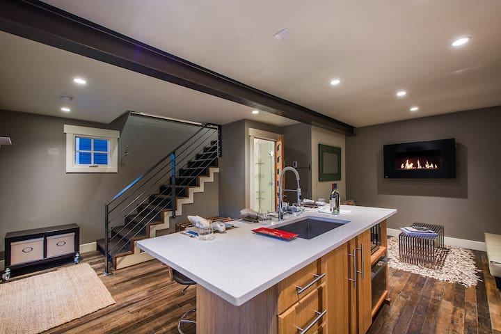 Two-story, single master suite home
