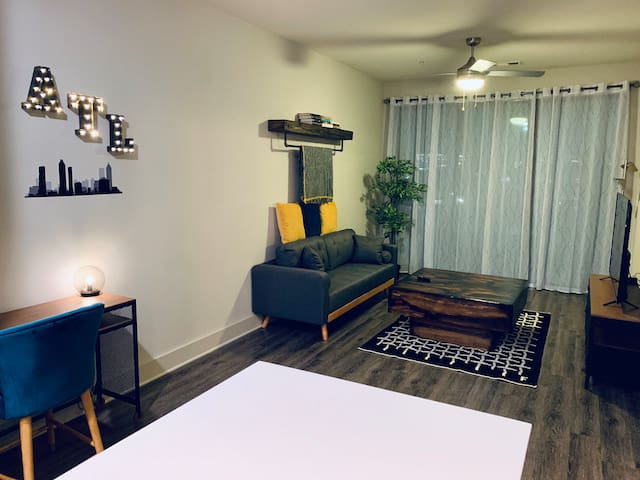 Cozy and modern 1 br Apt 5 minutes from Downtown!