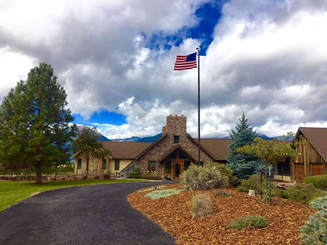 Experience the American West in this Montana Home