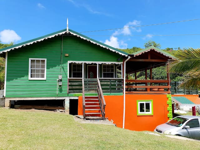 Seawind Cottage #3 -Traditional St.Lucian Style!