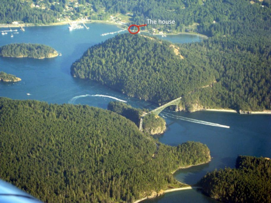 Deception Pass and our house