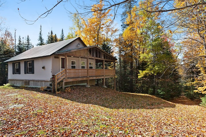 Friendly cabin near tons of outdoor activities! Walk to the lake, 2 dogs OK!