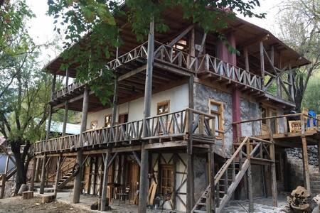 Taş ev - Çukurbağ Köyü - บ้าน